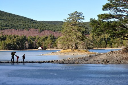 Wenn Ihre Familie aktiv ist und Outdoor liebt, dann kann Wandern im Zentrum Ihres Familienurlaubs in Schottland stehen.