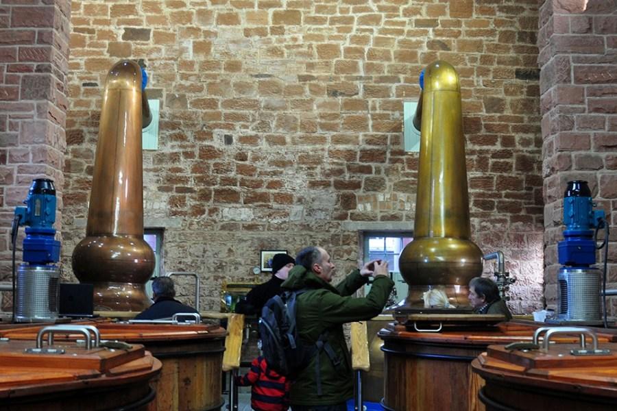Natuerlich besichtigen wir auf den Genussreisen Schottland auch eine Whisky Distillery.