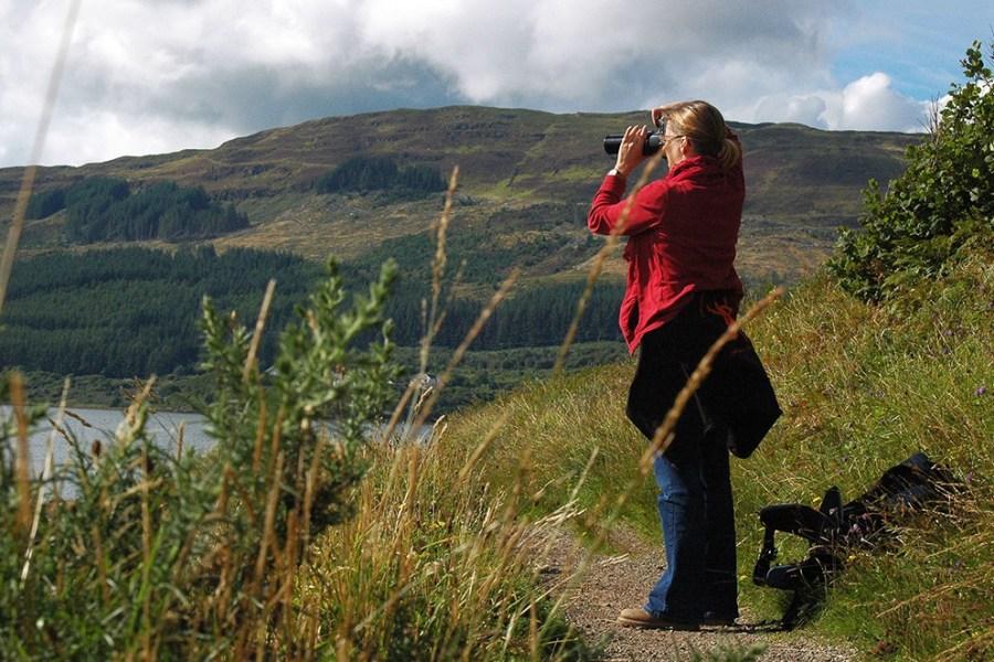 Auf individuellen Reise im Auto durch Schottland bleibt viel Zeit zum Fotografieren und Verweilen.