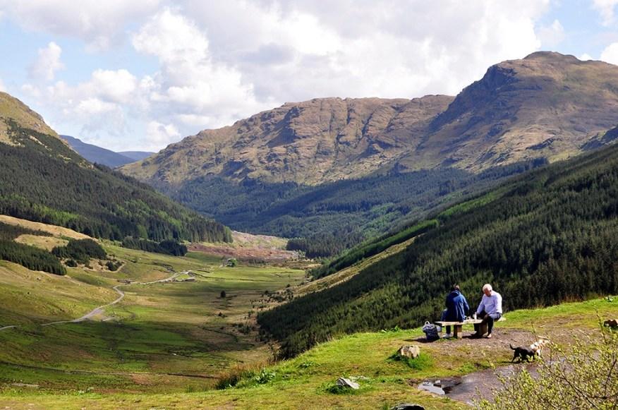 Individuell zugeschnittene Reisen verschönern den kommenden Urlaub in Schottland.