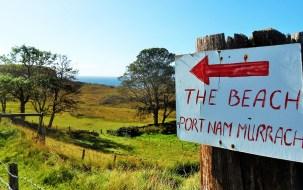 Ein Reisetipp für Schottland ist Arisaig mit den einsamen Sandstränden.