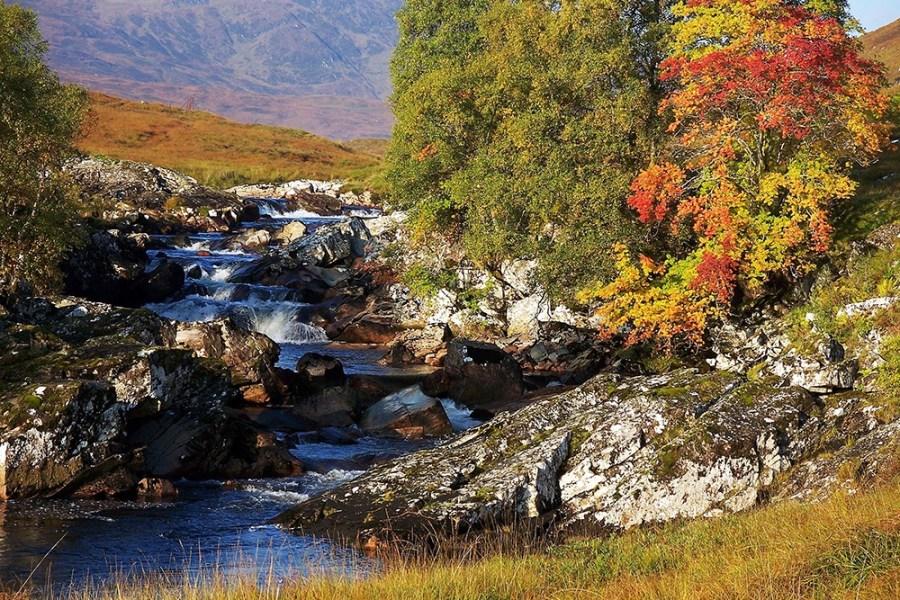 Der West Highland Way ist eine der populaersten Wanderreisen Schottlands.