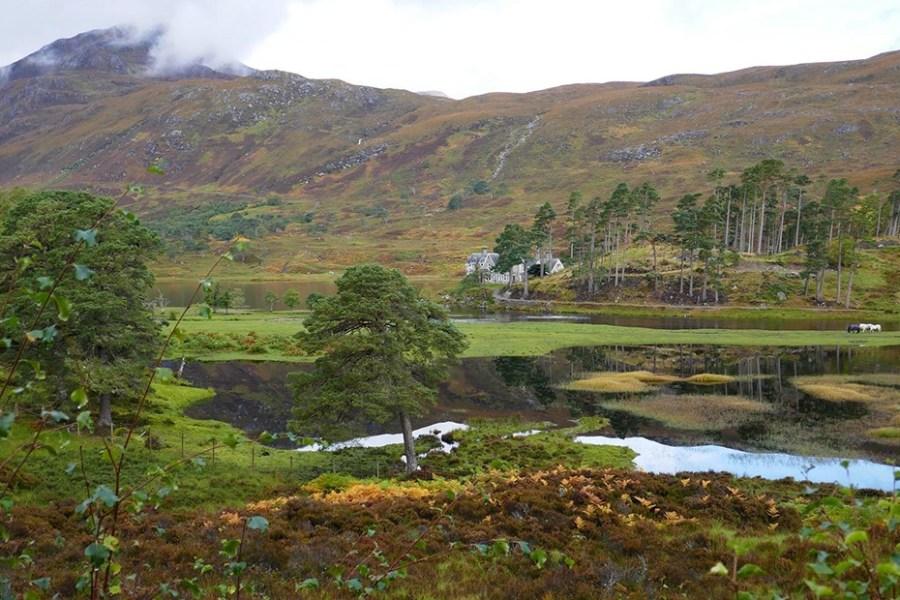 Wer zivilisationsarme Natur liebt, fuer den ist ein Wanderurlaub auf dem Glen Affric Kintail Way die ideale Loesung.