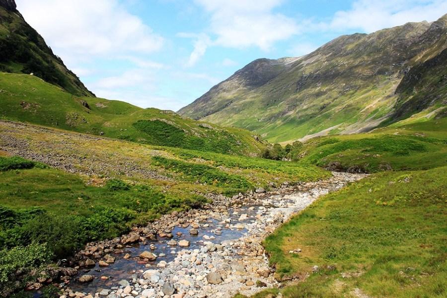 Auf der letzten Etappe der Wanderreise auf dem West Highland Way erwandert man die Devils Staircase.