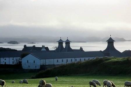 Die Brennerei Ardbeg unserer Whiskyreise liegt idyllisch an der Ostküste von Islay.