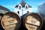 Die Ardbeg Distillery der Whiskyreise Islay liegt nicht nur idyllisch sondern produziert auch sehr gute Tropfen.