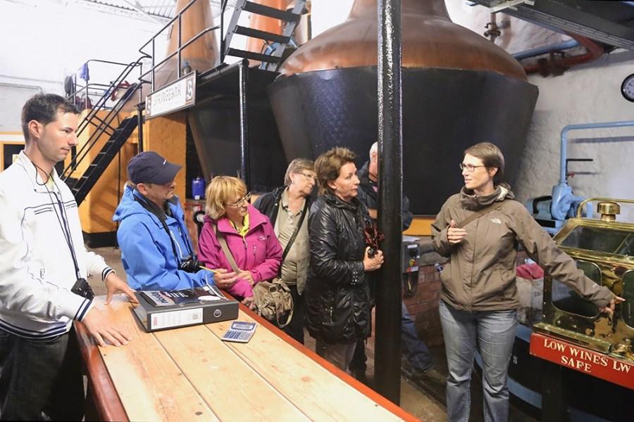 Brennerei Fuehrungen sind ein Hauptbestandteil unserer Whiskyreise nach Islay.