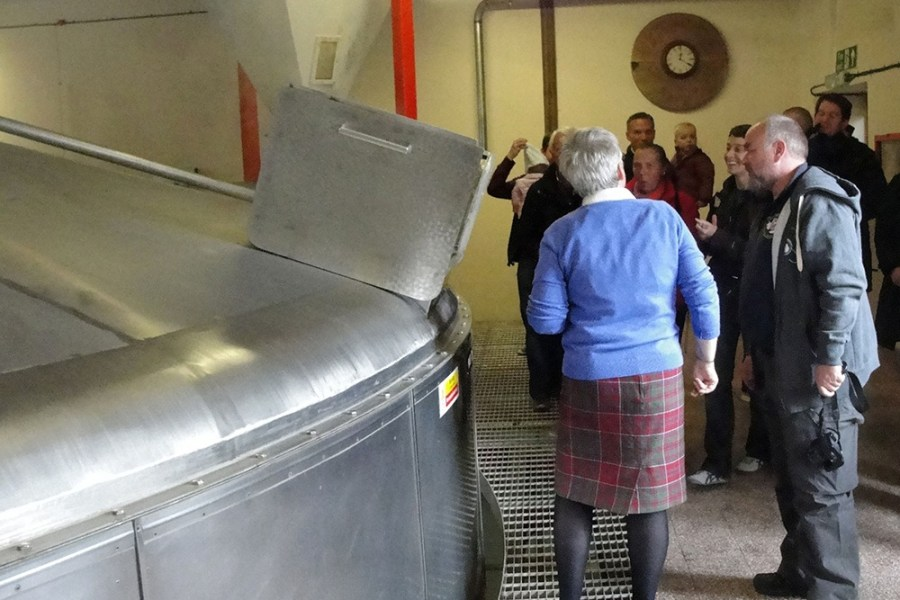 Fuehrungen in den Whisky-Brennereien sind Bestandteil unserer Whiskyreise in die Speyside.