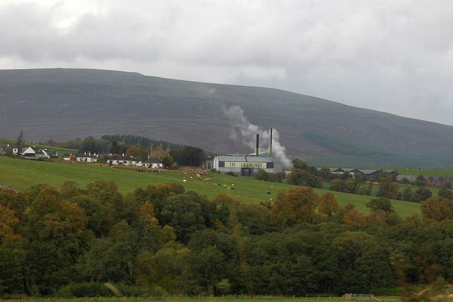 Glenlivet Distillery ist eine weitere Beruehmtheit auf unserer Whiskyreise Speyside.