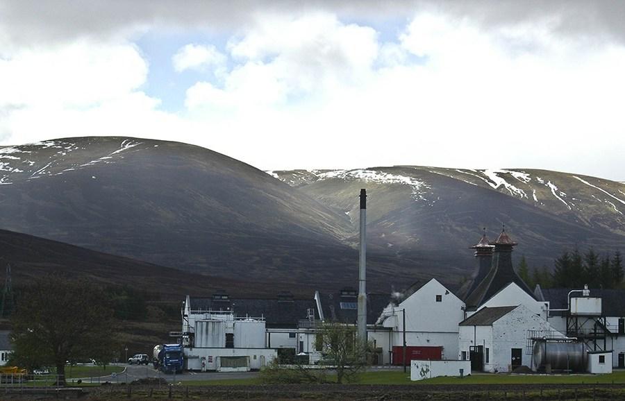 Einige der Speyside-Brennereien, die wir waehrend der Whiskyreise besuchen, gehoeren in die Region der Highlands.