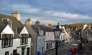 Unser Reiseleiter Workshop findet im pittoresken South Queensferry statt.