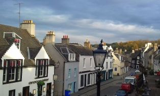 Unser Reiseleiter Workshop findet im pittoresken South Queensferry statt.