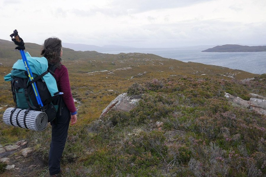 Die Northwest Highlands sind aufgrund ihrer Abgelegenheit eine ideale Region fuer eine Wanderreise nach Schottland.