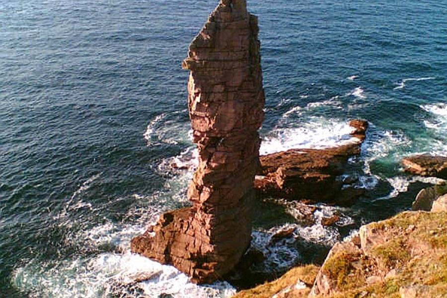 Der Old Man of Stoer ist einer der Hoehepunkte einer Wanderreise in die Northwest Highlands.