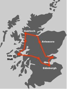 Diese Schottlandreise konzentriert sich auf Natur und Wildlife.