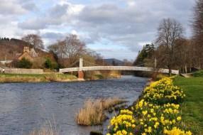 Bei der Tagestour bieten sich ein Ausflug nach Peebles in die schottischen Borders an.