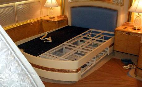 Versace Bed Custom Mattress Built For A King S Airplane