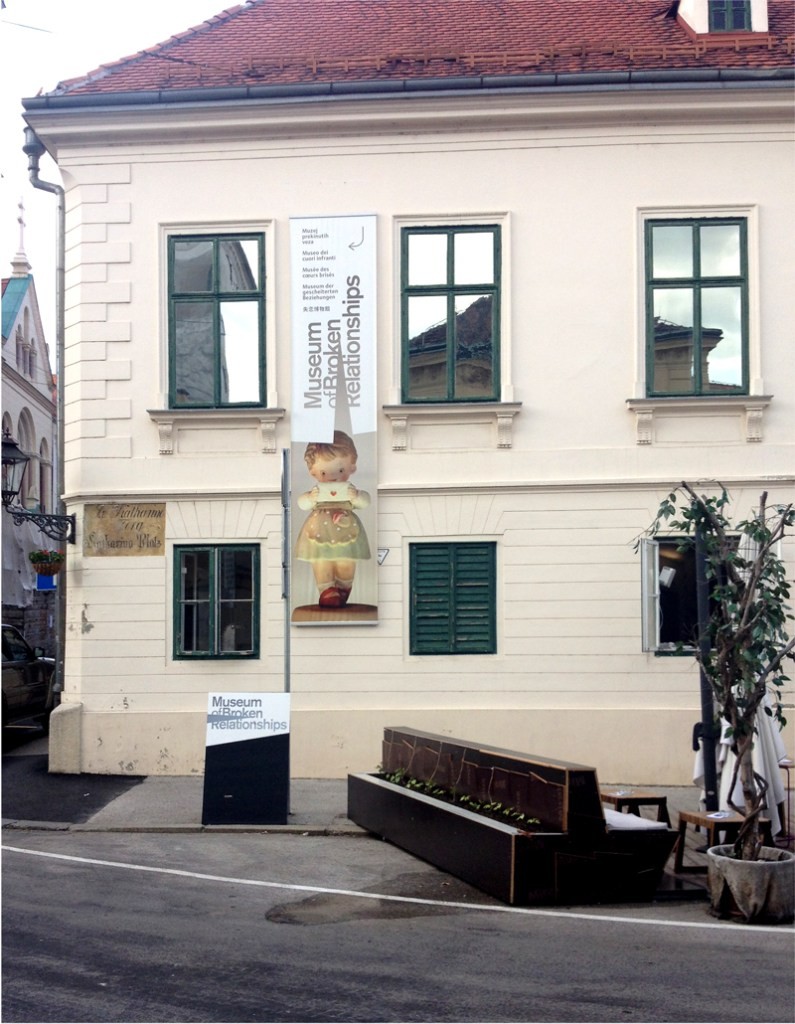 museum of broken relationships in Zagreb