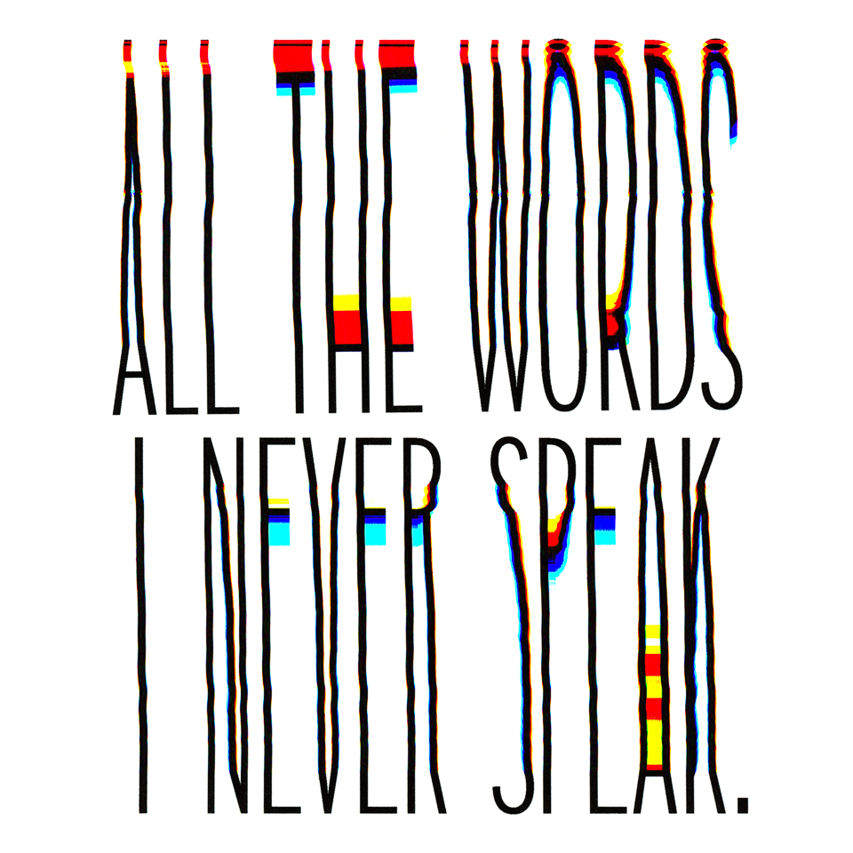 idle expressions - all the words i never speak