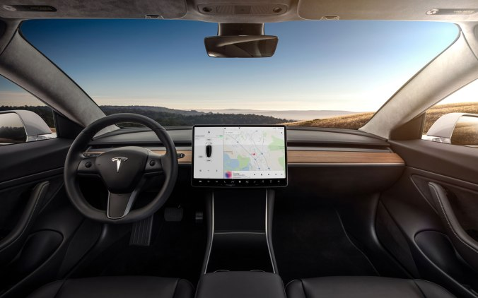 Model-3-Interior-Dashboard---Head-On