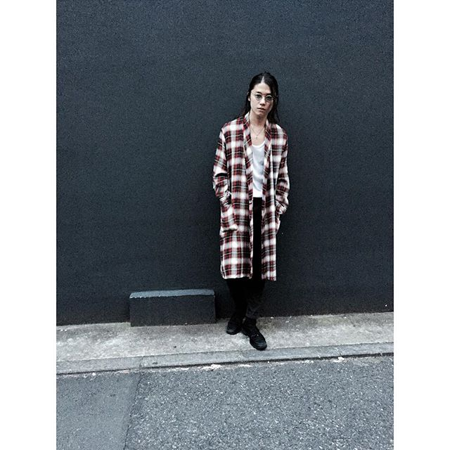 Vintage Shadow Check Rayon Gown