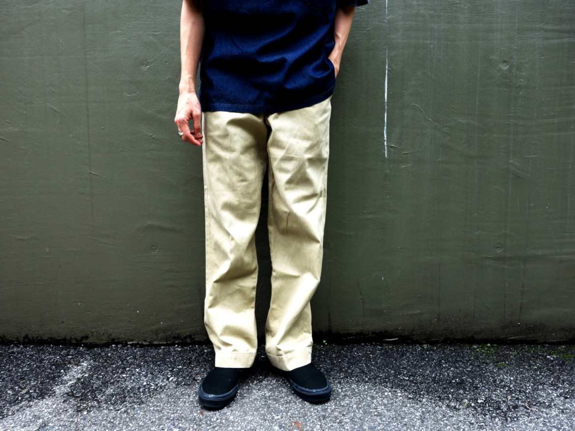 Military Chino Trousers Style sample
