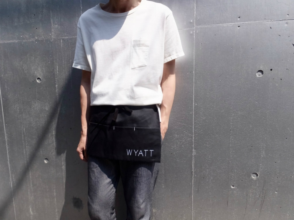 WYATT × VOIRY  Denim Apron Bag