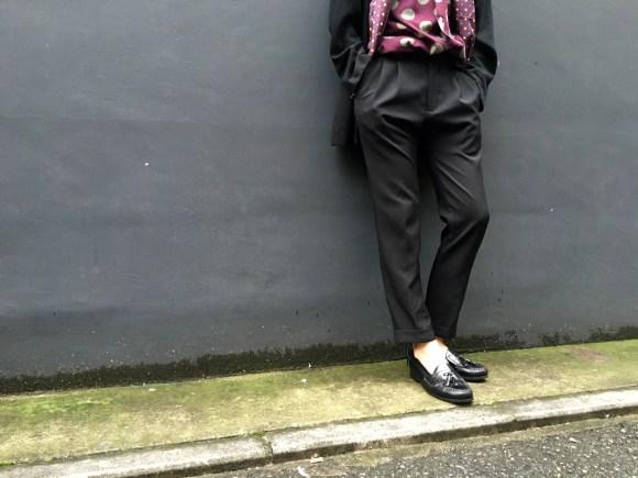 西染めDot Shirts