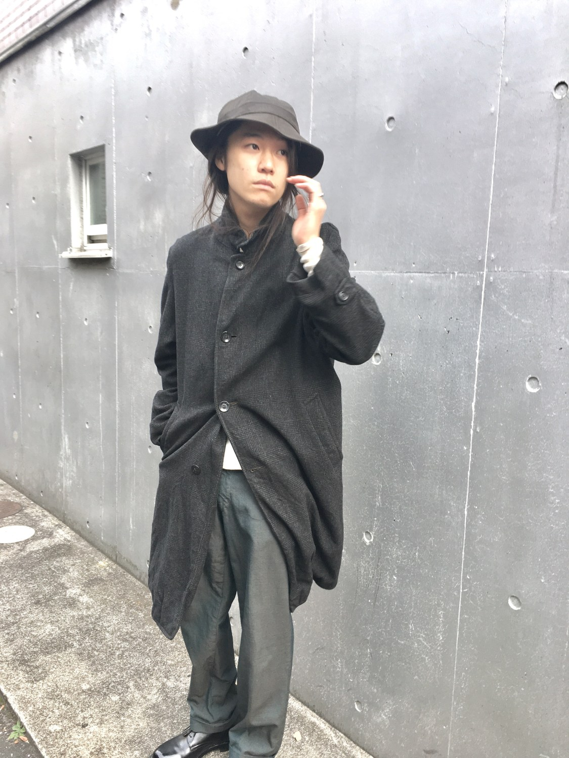 Vintage Washed Coat
