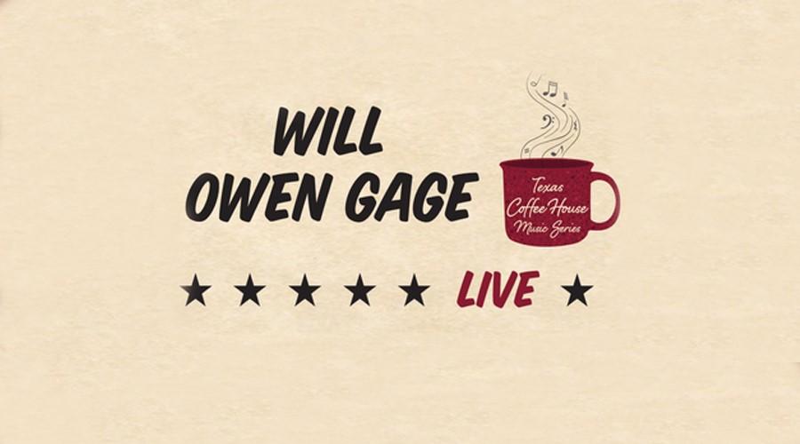 Will Owen Gage at Schreiner's Coffeehouse Music Series