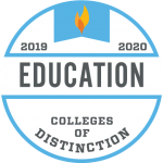 Schreiner University College of Distinction Education 2019-2020