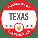 Schreiner University College of Distinction State of Texas 2019-2020