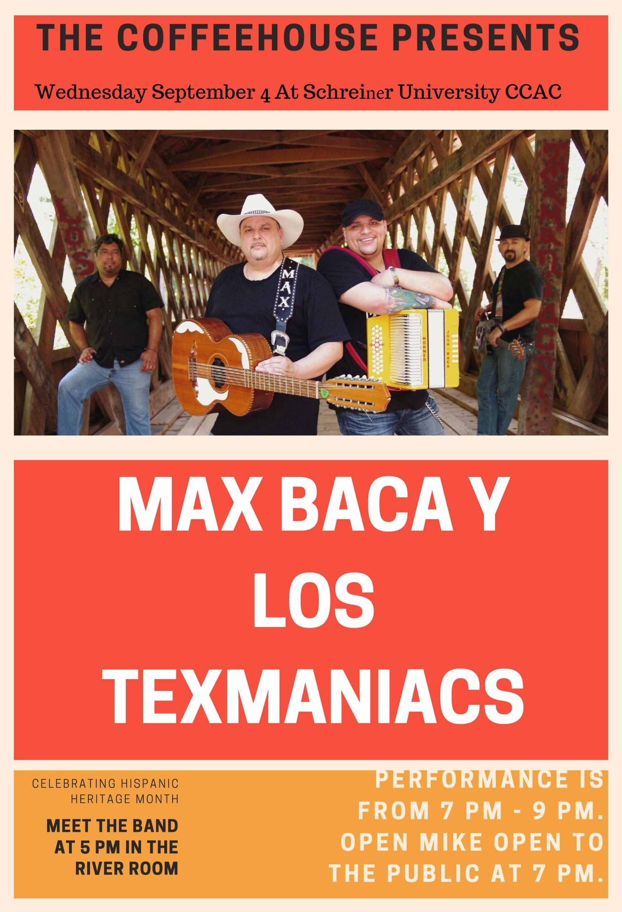 Max Baca Y Los Texmaniacs