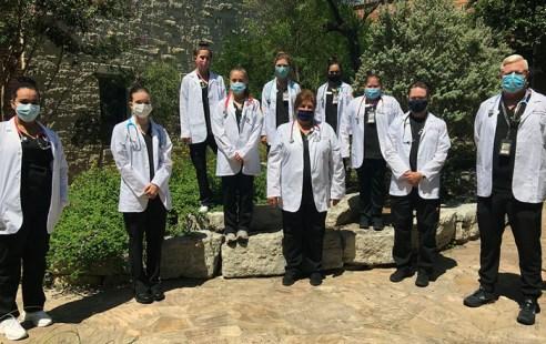 Schreiner Nursing Program Inaugural White Coat Ceremony
