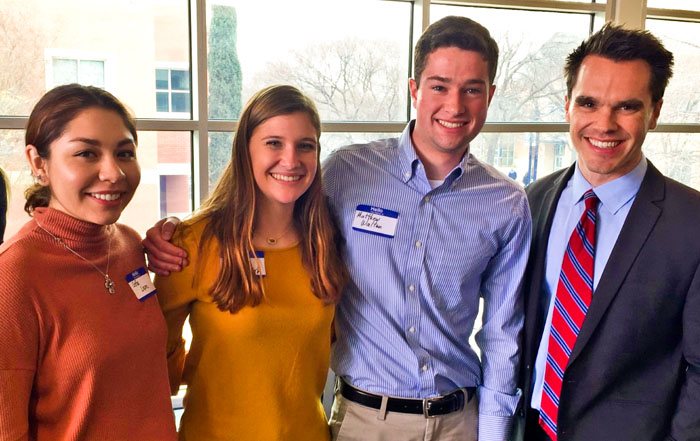 Schreiner University Students Present at 2020 Southwest Fulbright Research Symposium