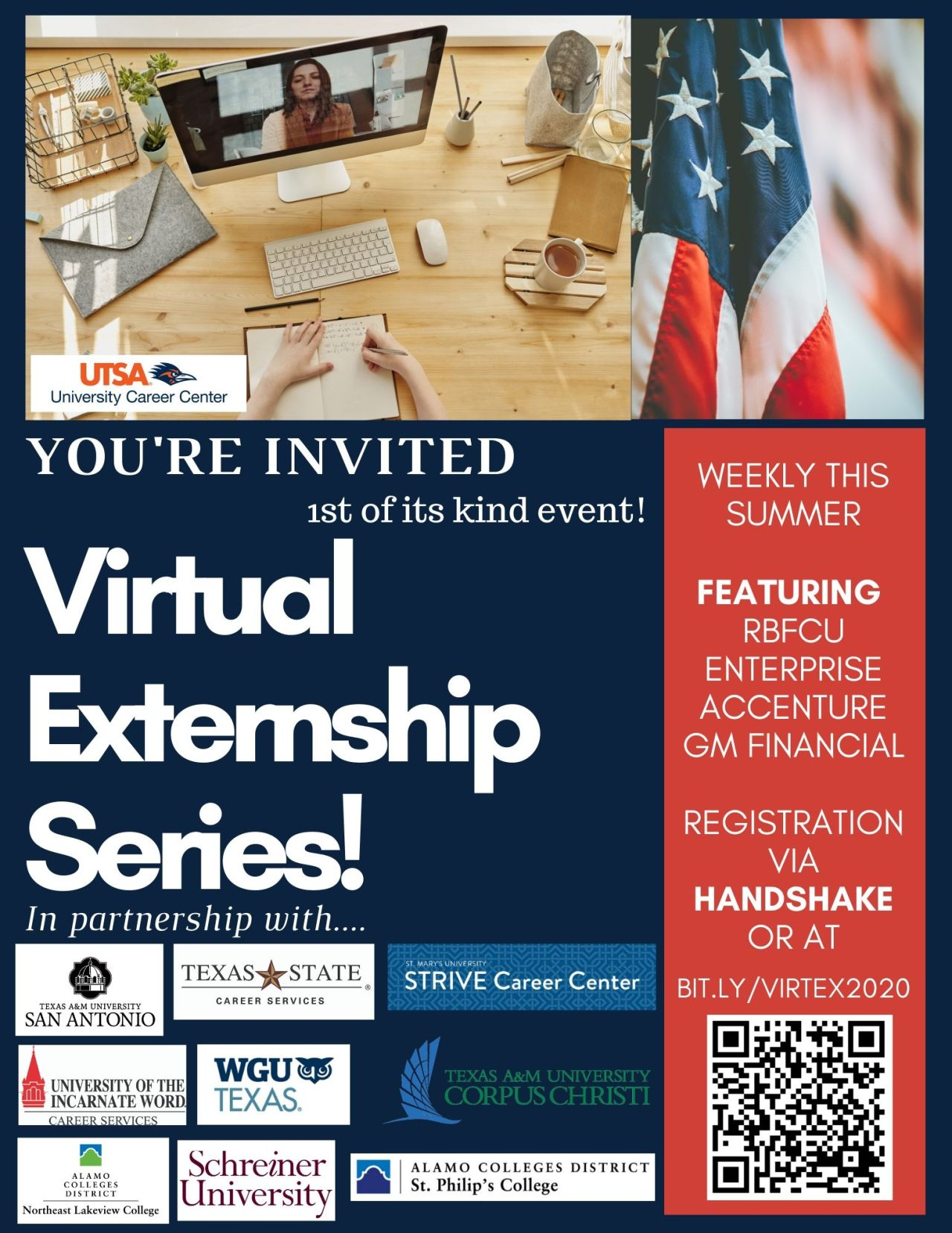 Virtual Externships 2020 Registration Flyer