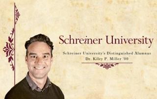Dr. Kiley Miller as Distinguished Alumnus