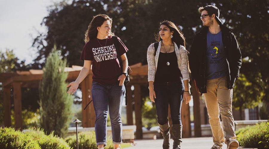 Schreiner University Students
