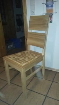 640 Stuhl in Esche