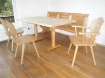 Sitzgruppe LANDHAUS mit Säulenfuß-Tisch