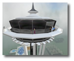 Seattle's Space Needle in Second Life