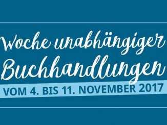 Logo: Woche unabhängiger Buchhandlungen