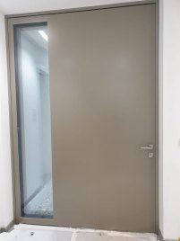 Pivot-Tür, Privathaus, Frankfurt