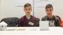 """Schüler experimentieren 2017: Admir, Amar und Amir Ljatifi wurden Profis im """"Upcyclen"""" mit ihrem Projekt """"Müll — Was tun damit?"""""""