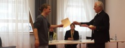 April 2017: Max Maas qualifiziert sich beim deutsch-französischen Redewettbewerb für die Endausscheidung in Verdun