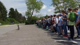 """23.05.2017: """"Achtung Toter Winkel!"""" Ein Fahrrad und ein 40-Tonner (im Toten Winkel)"""