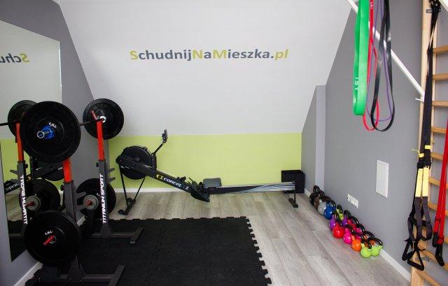 Trening schudnij na mieszka