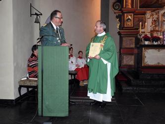 Pfarrer Bălăşcuţi wird Präses der Liblarer Schützen