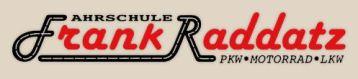 Fahrschule Frank Raddatz - PKW, Motorrad, LKW