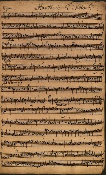 Manuscrito de Bach recientemente hallado